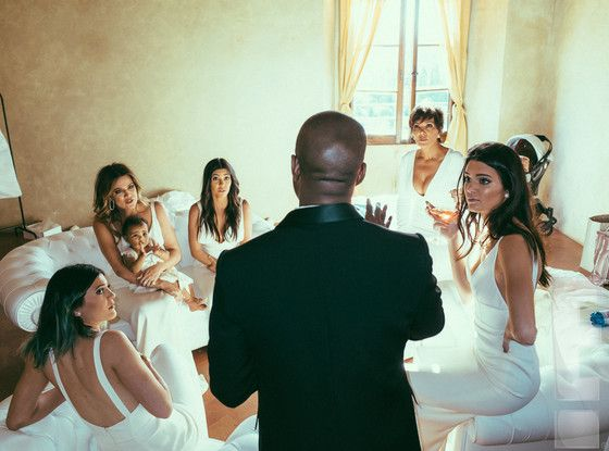 Kim Kardashian Wedding Album Exclusive: See New Photos of North, the Bridal Party and Kim and Kanye West on Their Big Day   E! Online Mobile