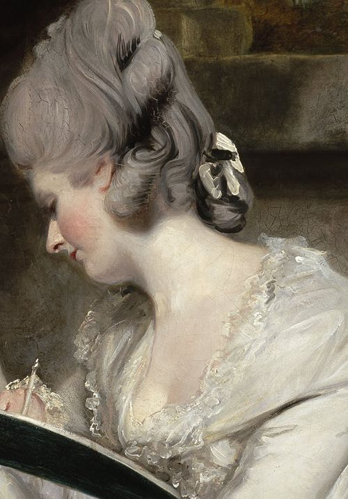 The Ladies Waldegrave by Joshua Reynolds, 1780 (detail)