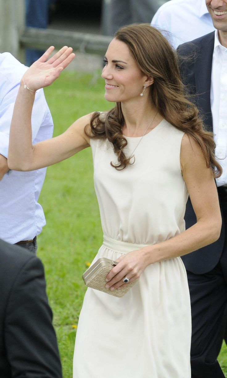 Keep tabs on what the Duchess of Cambridge is wearing on her first official visit to Canada