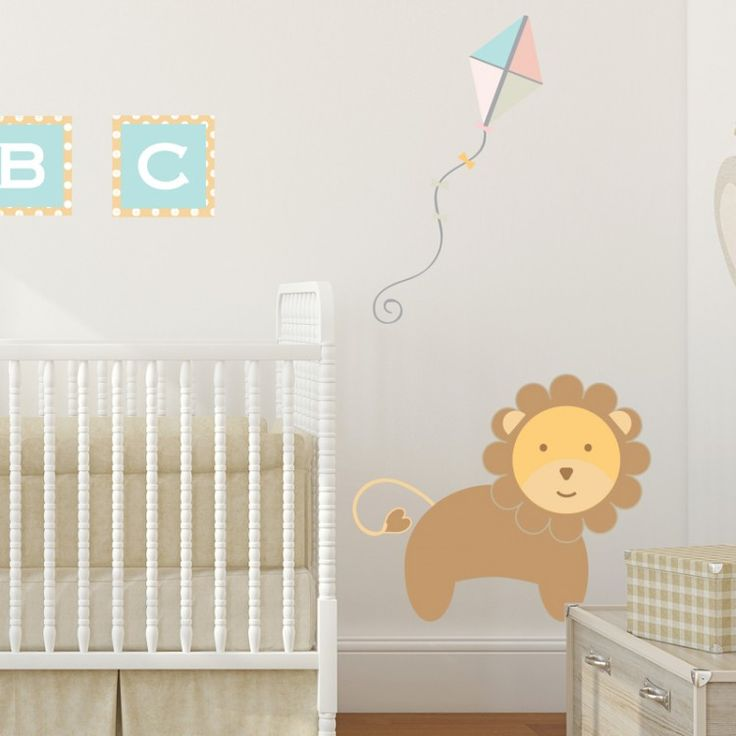 Buy a pastel jungle train lion wall sticker from little lucy willow a high quality uk supplier of childrens furniture and accessories