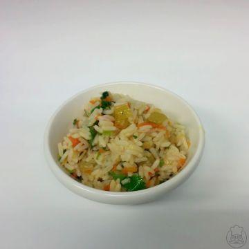 Zeleninová rýže - barevná a o něco chutnější úprava rýže