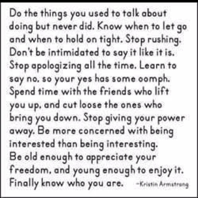 <3 words to live by