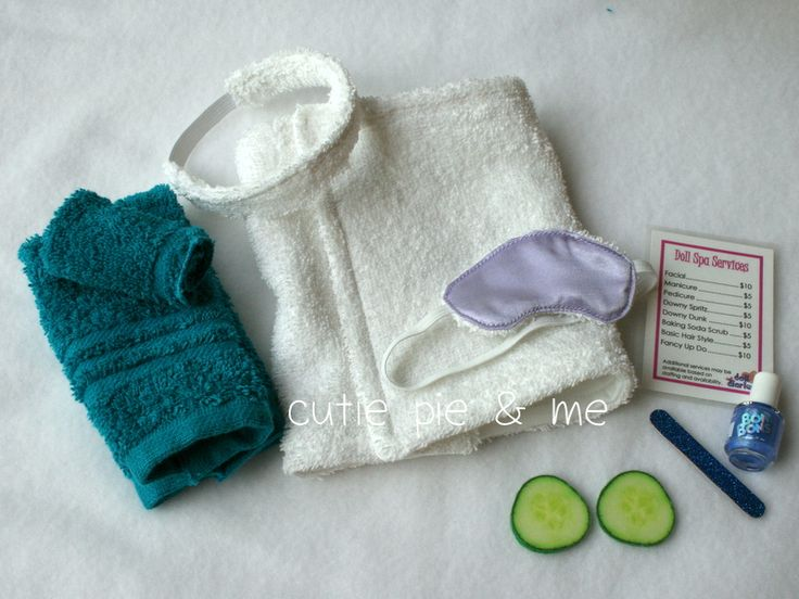 Stories from the Sewing Room: How to Make an American Girl Doll Spa Day Gift