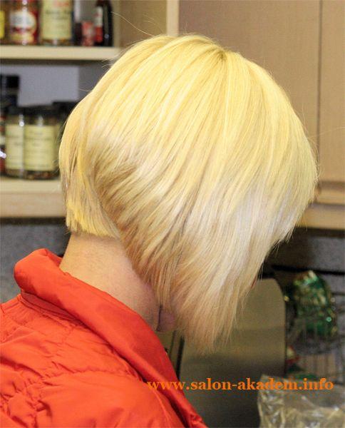 """Стрижки боб на короткие волосы. Вид сзади #Фото  Вернуться в раздел """"Короткий боб""""    http://www.salon-akadem.info/strizhki-bob-na-korotkie-volosy-vid-szadi.php"""
