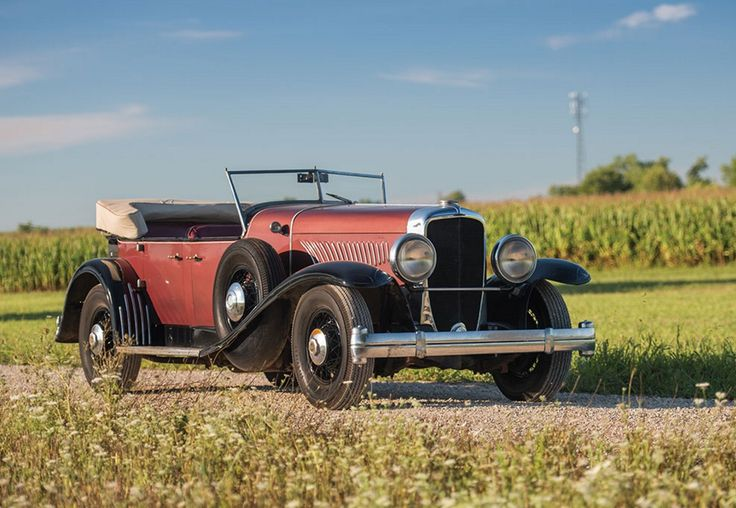 1927 Duesenberg Model Y Phaeton Prototype by McFarlan for auction and for sale by RM Sotheby's in Hershey 2016. Read specs and more on ClassicCarWeekly.net