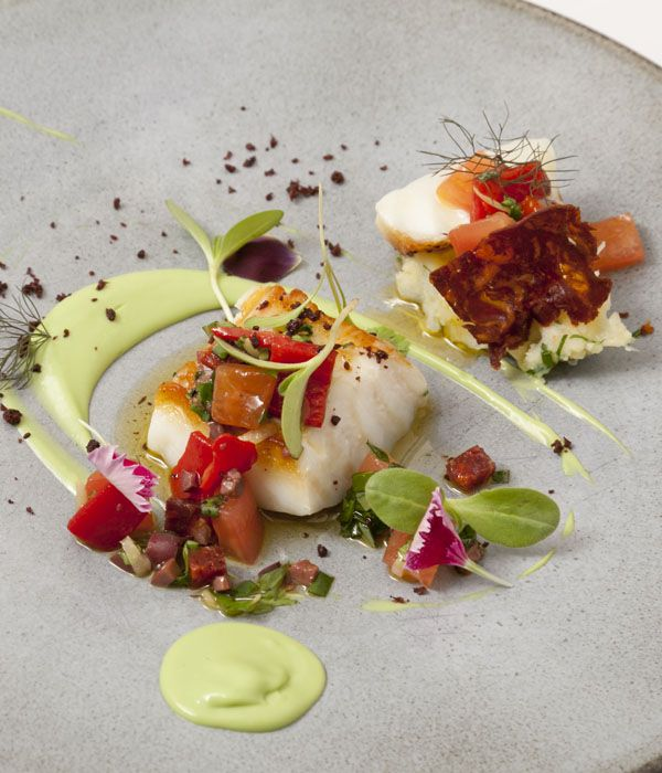 This exquisite cod recipe from Agnar Sverrisson of London's Texture is a delicious nod to the chef's Icelandic heritage.