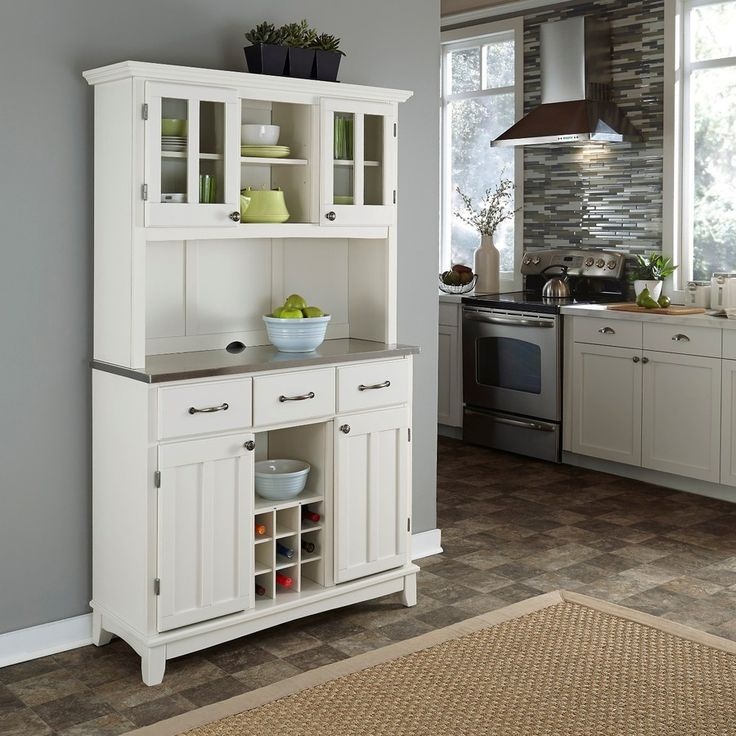 home styles china cabinet white 1