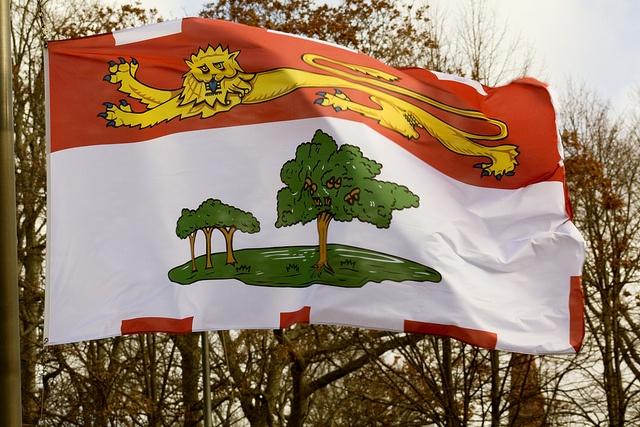 Prince Edward Island flag.