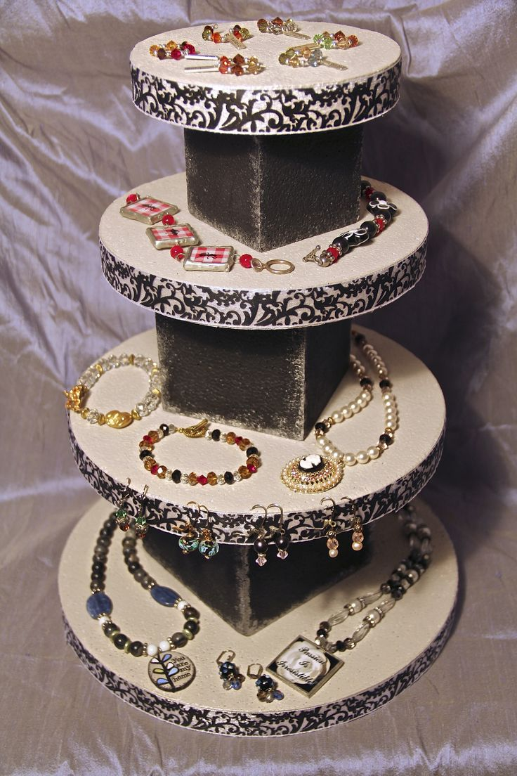 Display Filled with Jewelry