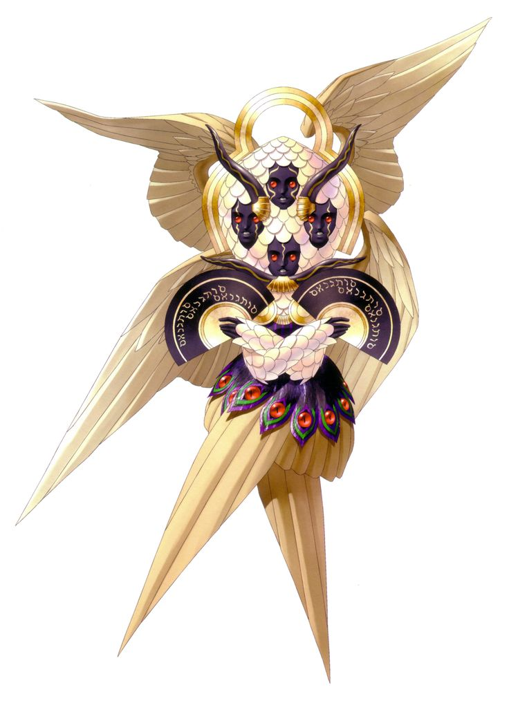 Seraph (Demon) - Megami Tensei Wiki: a Demonic Compendium of your True Self