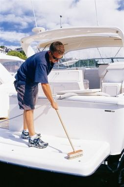 A boat owner shares his boat maintenance tips. Preventative maintenance takes time to design for any particular vessel, and relies on 3 main sources of resources...