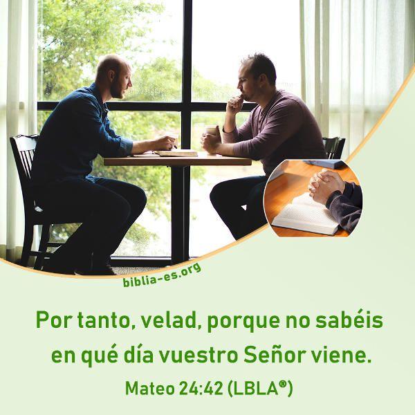 Versículo de la Biblia-Mateo 24:42 #Jesús #Evangelio #Revelación #Juicio #ElH…