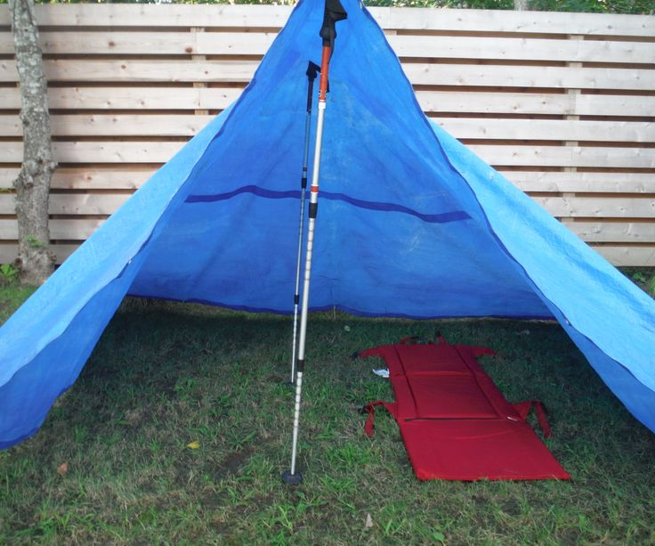 Whether you need a tent quick, want to lighten your pack or forgot your tent at home this Instructable is for you. The tarp tent is not my invention but hopefully this new pitching method will make lightweight tarp camping possible for more outdoorsmen.  This tent can be constructed using objects most backpackers already are carrying on the trail. This multi use of gear cuts down pack weight allowing hikers to go father quicker or just have an easier hike. Enjoy and please feel free to ...