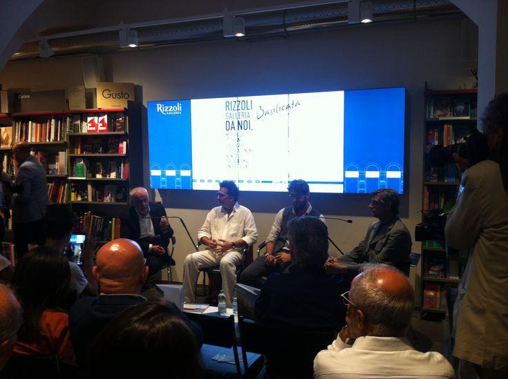 Libreria Rizzoli Terra di cinema e di talenti con Giuseppe Marco Albano, Antonello Faretta e Paride Leporace - Lucana Film Commission e Giovanni Canova