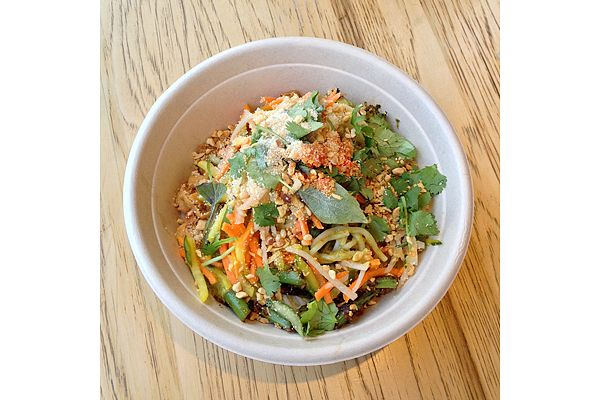 #glutenfree green #curry with rice noodles, ShopHouse, Washington, DC