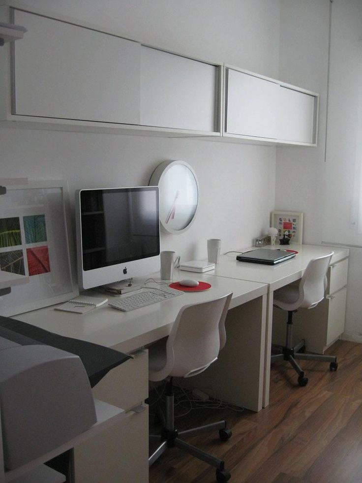 Captivating Modern Workspace  :: IMac   White And Clean Space