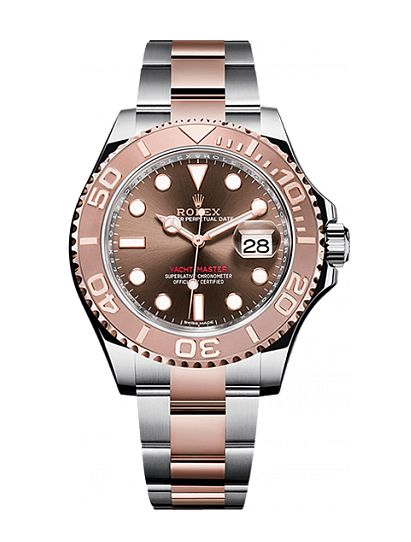 Rolex 116621-0001 Yacht Master II 40 mm Steel and Everose Gold. #rolex