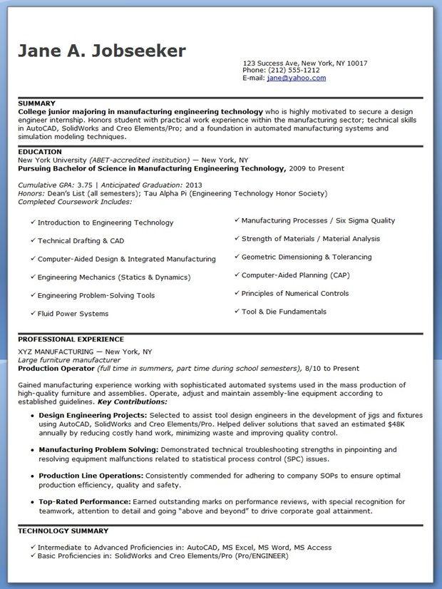 25 unique engineering resume ideas on pinterest resume examples