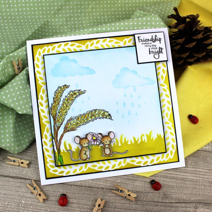 For the Love of Stamps - A Mice Day! | Hunkydory Crafts