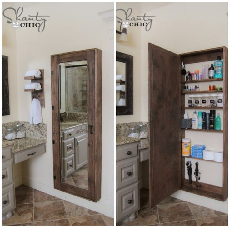 DIY Storage Cabinet - I want this for the upstairs bathroom!!