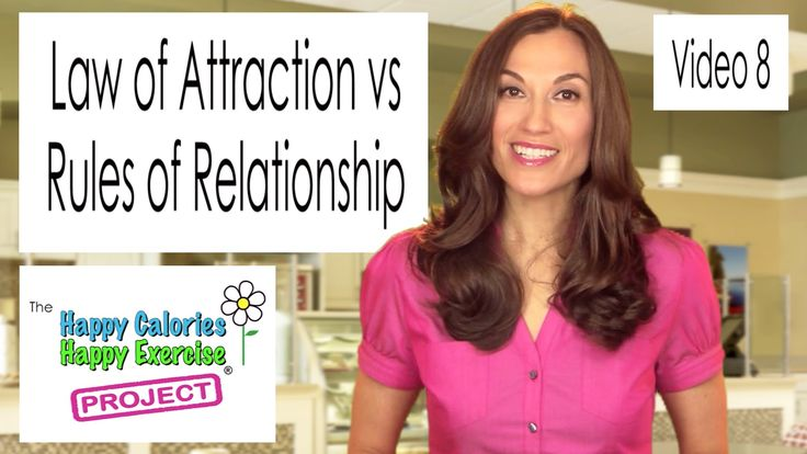 Weight Loss: Law of Attraction vs Rules of Relationship