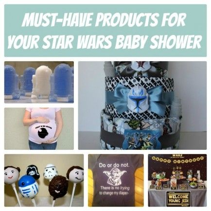 Marvelous Star Wars Baby Shower