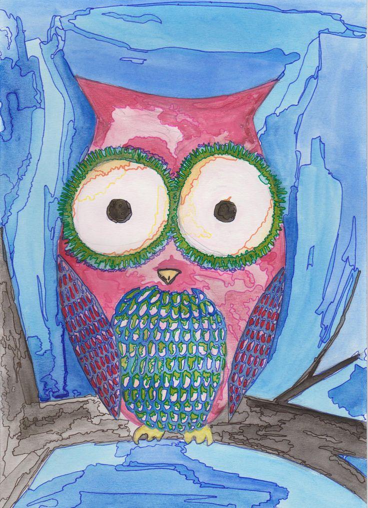 Sowa (Owl) by martystka