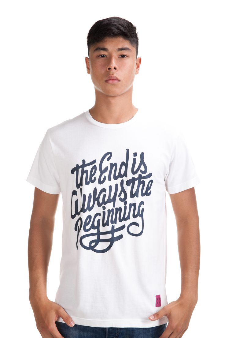 The End Slub Tee Rp. 249,000 Available in S, M, L and XL