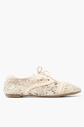 Lace Oxford Flat - <3 it !