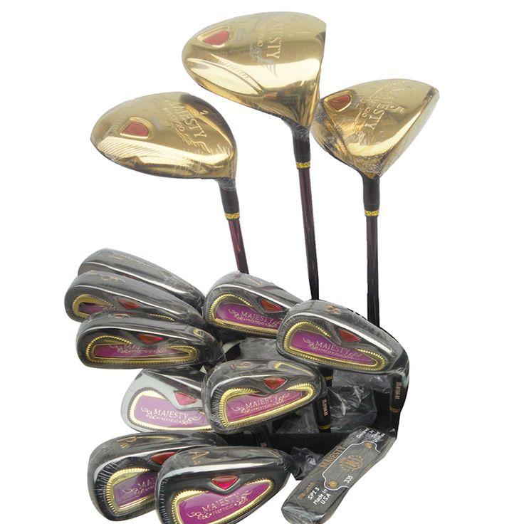 Nouvelle Golf clubs Maruman majesté clubs complètes set Pilote + 3/5 fairway bois + fers Graphite De Golf arbre et Capuchon livraison gratuite