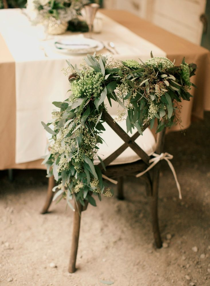 Eucalyptus garland - LOVE this!