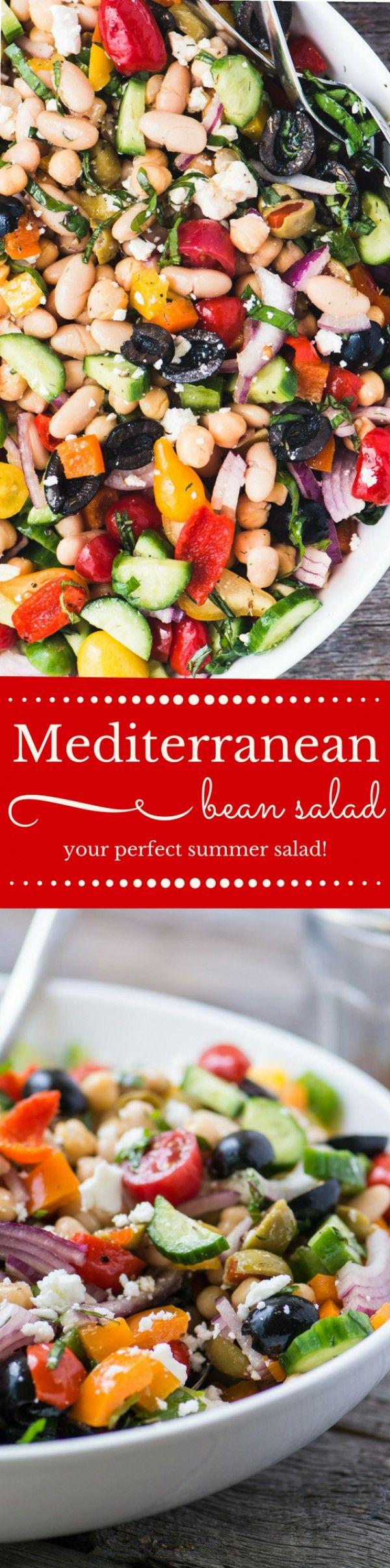 Get the recipe Mediterranean Bean Salad @recipes_to_go