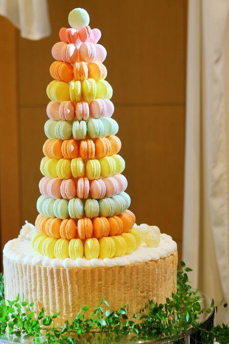 JRタワーホテル日航札幌のプランナーブログ「☆★マカロンタワー完成★☆」|ゼクシィで理想の結婚式