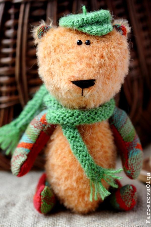 Artist Teddy Bear - Esenin - OOAK toy
