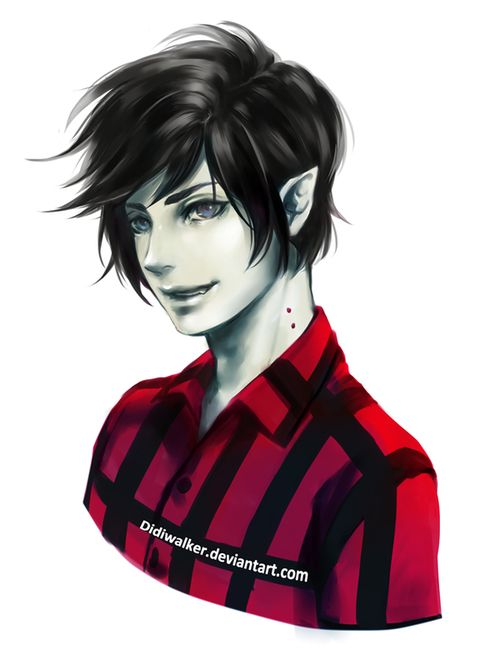Marshall Lee~! <3 Maybe I'll try cosplaying him sometime :3 Though I'll never be that handsome :(