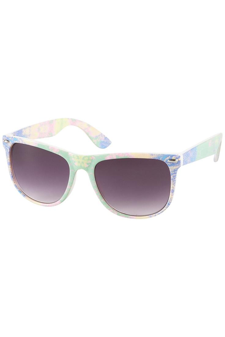 Pastel Tie Dye Sunglasses: Tie Dye, Dyes Sunglasses, Dyes Prints, Women ́S, Sweet Sunglasses, Ties Dyes, Pastel Ties, ́S Fashion