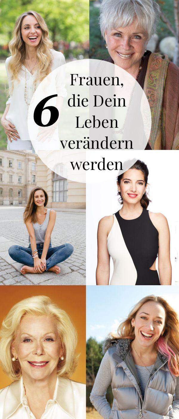 Glücklicher und bewusster leben. Diese sechs Frauen werden dein Leben auf dem Gebiet der Spiritualität, Selbstfindung und Persönlichkeitsentwicklung nachhaltig verändern. Hilfe zur Selbsthilfe bei Stress, Ängsten und Burnout oder Depression.