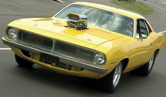 1970 Plymouth Barracuda blown