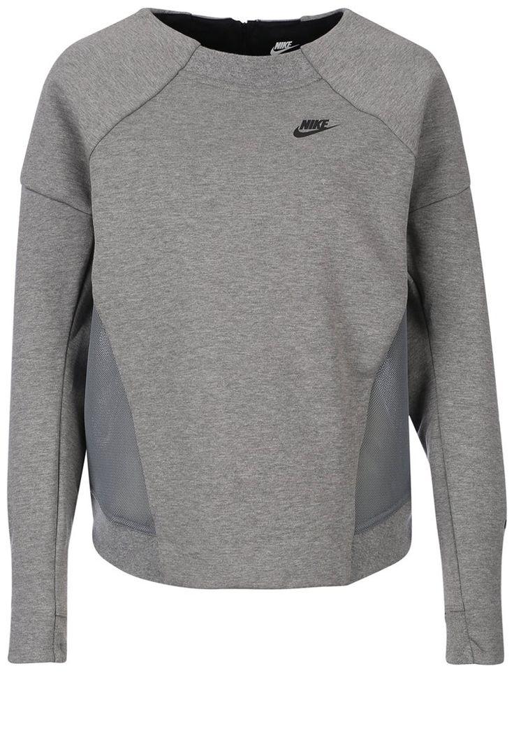 Sweatshirts Nike Sportswear TECH FLEECE - Sweatshirt - carbon heather / dark grey / black gris: 89,95 € chez Zalando (au 25/02/16). Livraison et retours gratuits et service client gratuit au 0800 740 357.