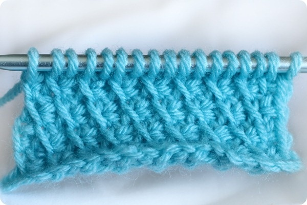 Tunisian crochet - the bias stitch (tutorial)