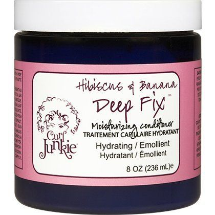 $20 for 8oz , but he reviews are *amazing* including several holy grail pronouncements. Curl Junkie Hibiscus & Banana Deep Fix Moisturizing Conditioner - CurlMart