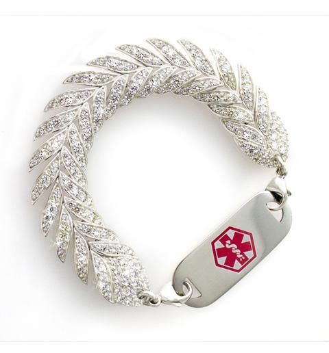 Finally found a site with super cute medical id bracelets! :)