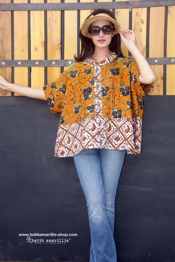 Batik Amarillis' Breezy Top .. it's Freesize , super cool,comfy ,sexy and swirling outfit with criss-cross back detail for you to enjoy and wear!!! Available at Batik Amarillis webstore www.batikamarillis-shop.com