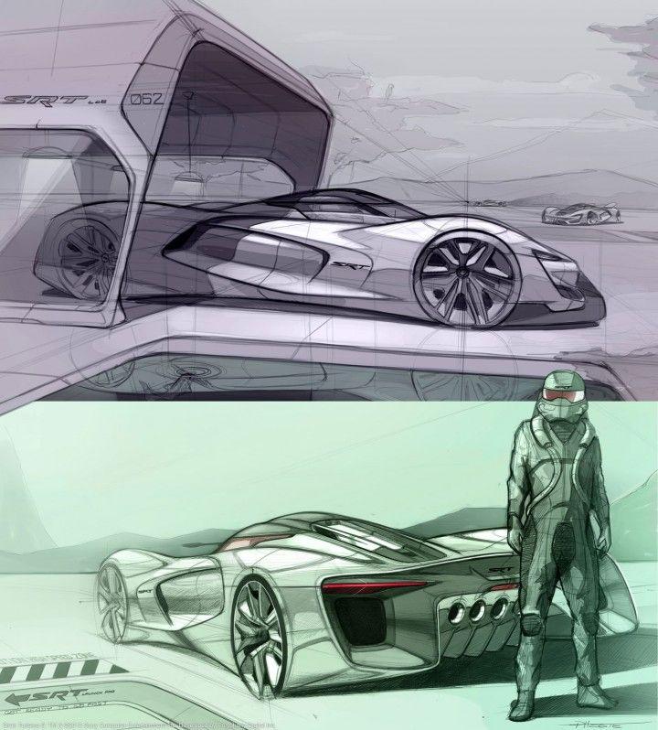 SRT Tomahawk Vision Gran Turismo: Design Story - Car Body Design