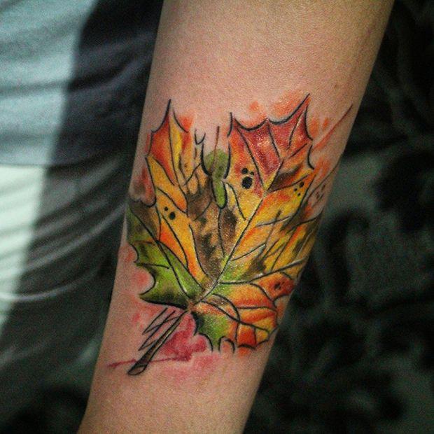 fall leaf by kelvin gabriel