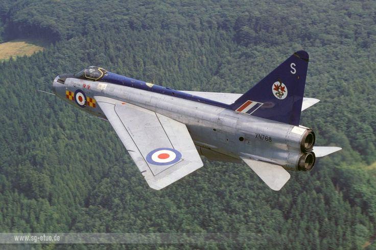 XN768/S Lightning F2 92Sqn R.A.F. West Germany