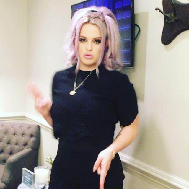 how to get lilac hair like kelly osbourne
