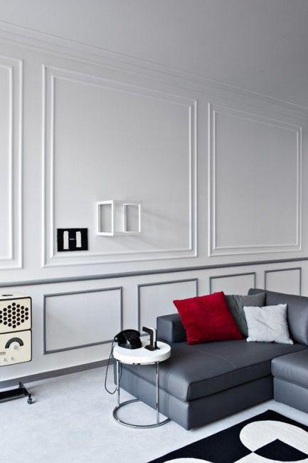 1000 ideas about ceiling trim on pinterest moldings - Molduras para paredes ...