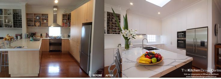 Before & After - Modern Traditional Kitchen
