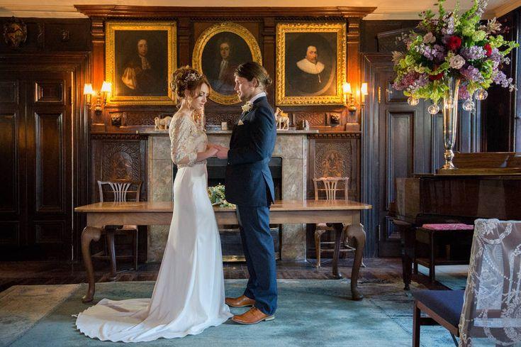 Enjoy an #intimate #wedding at Belchamp Hall on the Suffolk / Essex border